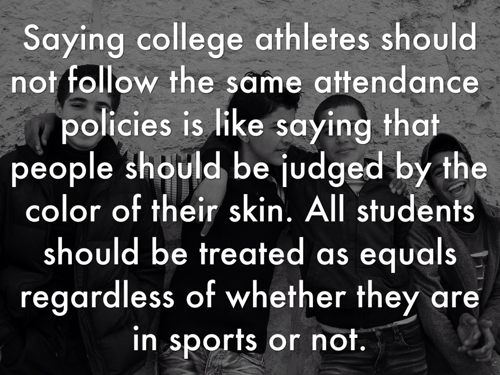 college athletes should not be