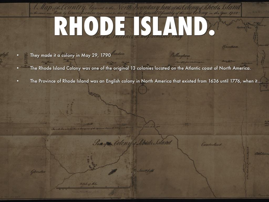 Rhode Island Colony Vote