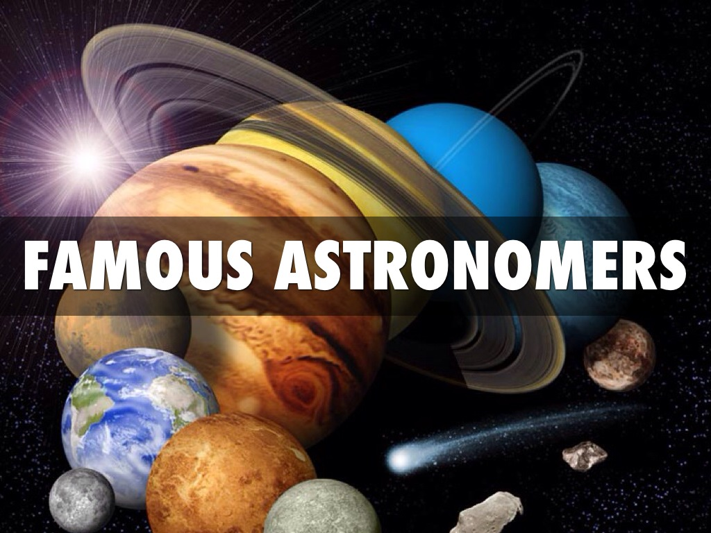 famous astronomers by blake dickson