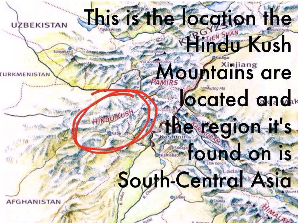 Hindu Kush Mountains b...