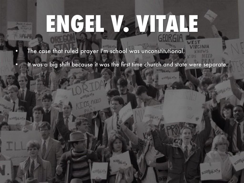 a history of the engel v vitale case