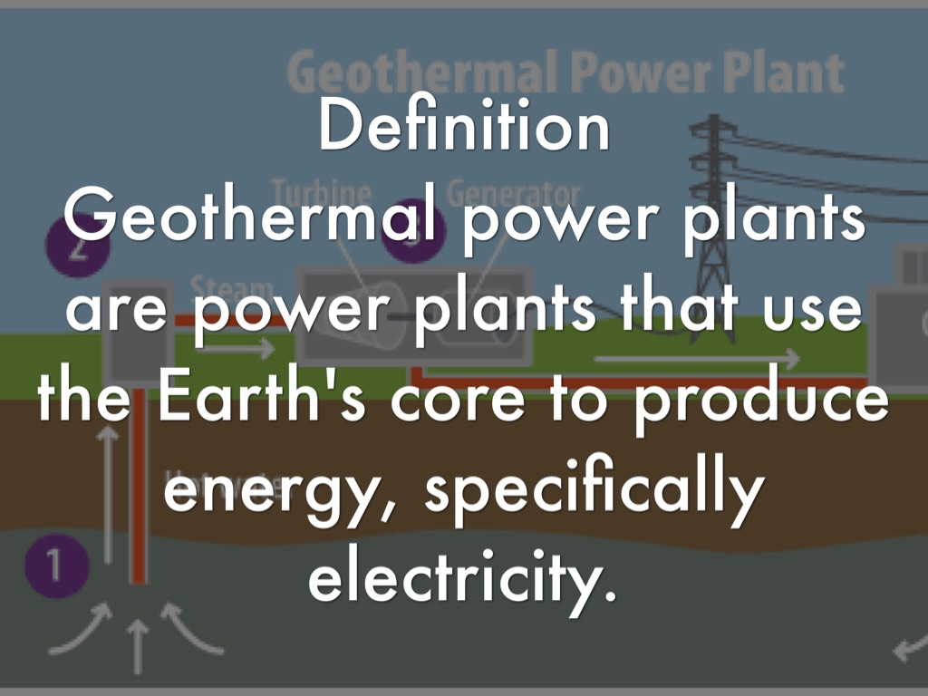 geothermal energy power plants by max donnelly
