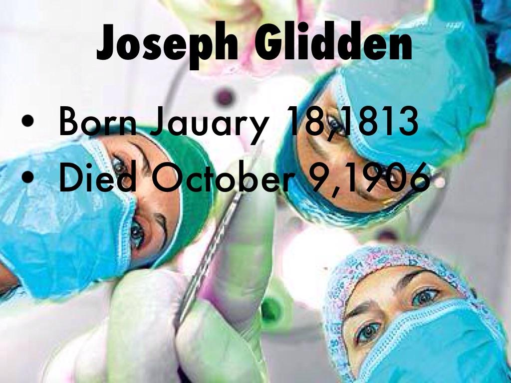 Joseph Glidden by Deja Cuffie
