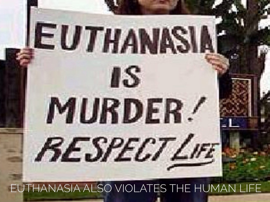 an argument in favor of euthanasia because its a patiens choice
