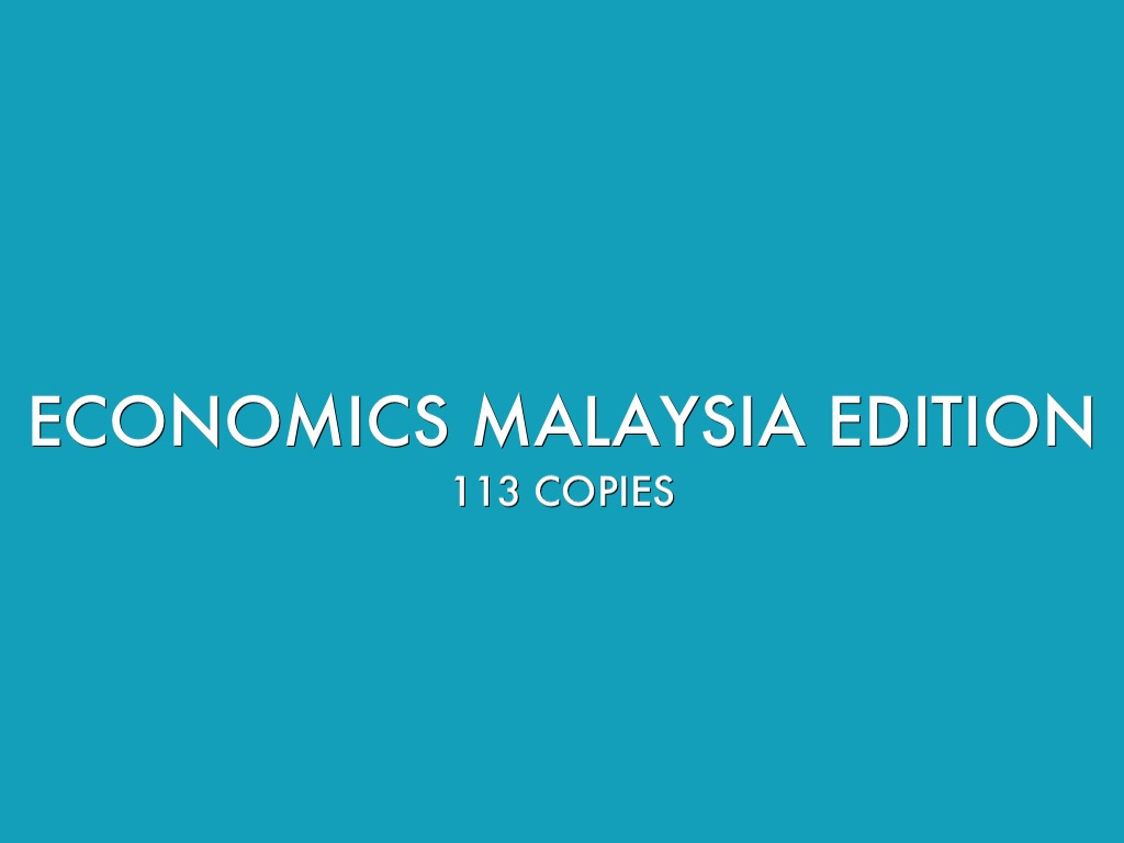 economic malaysia