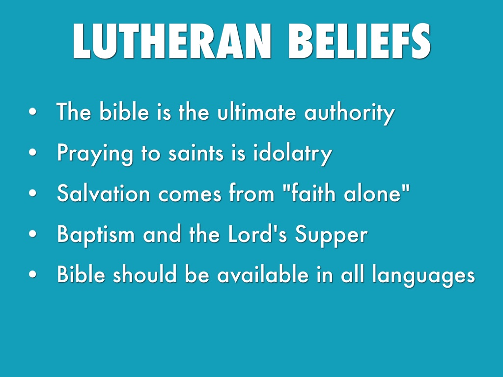Lutheranism by Shaheed Bashir
