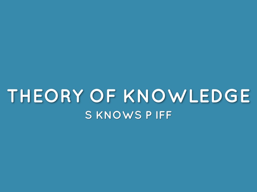 "theory of knowledge Epistemology, the philosophical study of the nature, origin, and limits of human knowledgethe term is derived from the greek epistēmē (""knowledge"") and logos (""reason""), and accordingly the field is sometimes referred to as the theory of knowledge."