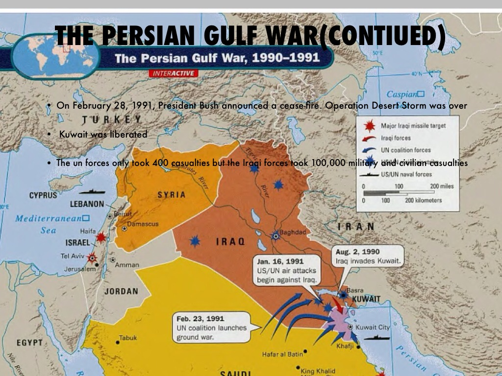 an analysis of the persian gulf war And the persian gulf war the defense casualty analysis system (dcas) lists and statistics american american.