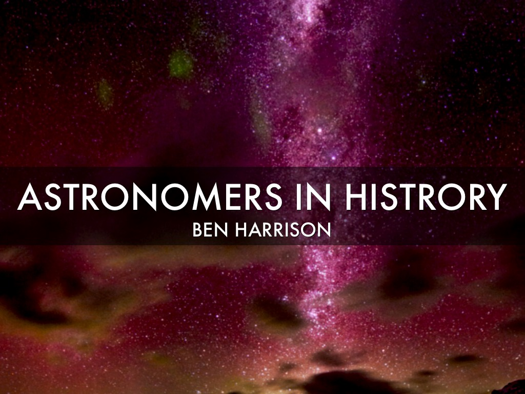 Astronomers by Ben Harrison