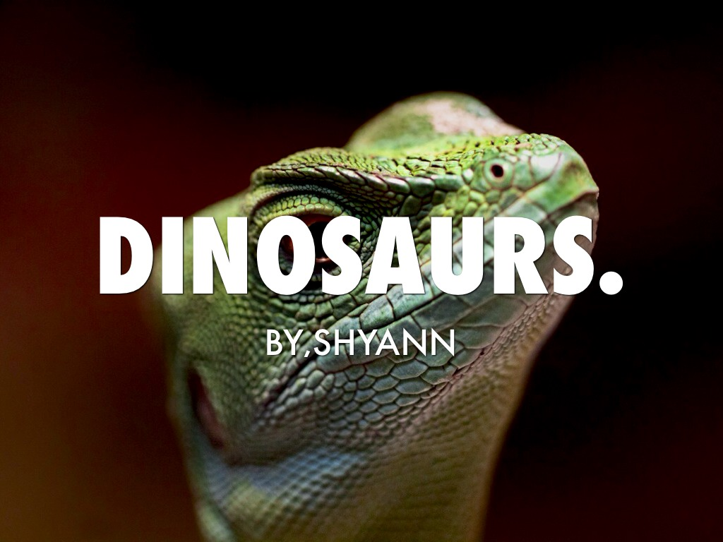 Dinosaurs By,Shyan