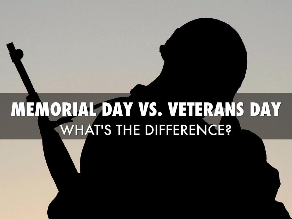 Memorial Day vs. Veterans Day - Haiku by Scott Mitchell