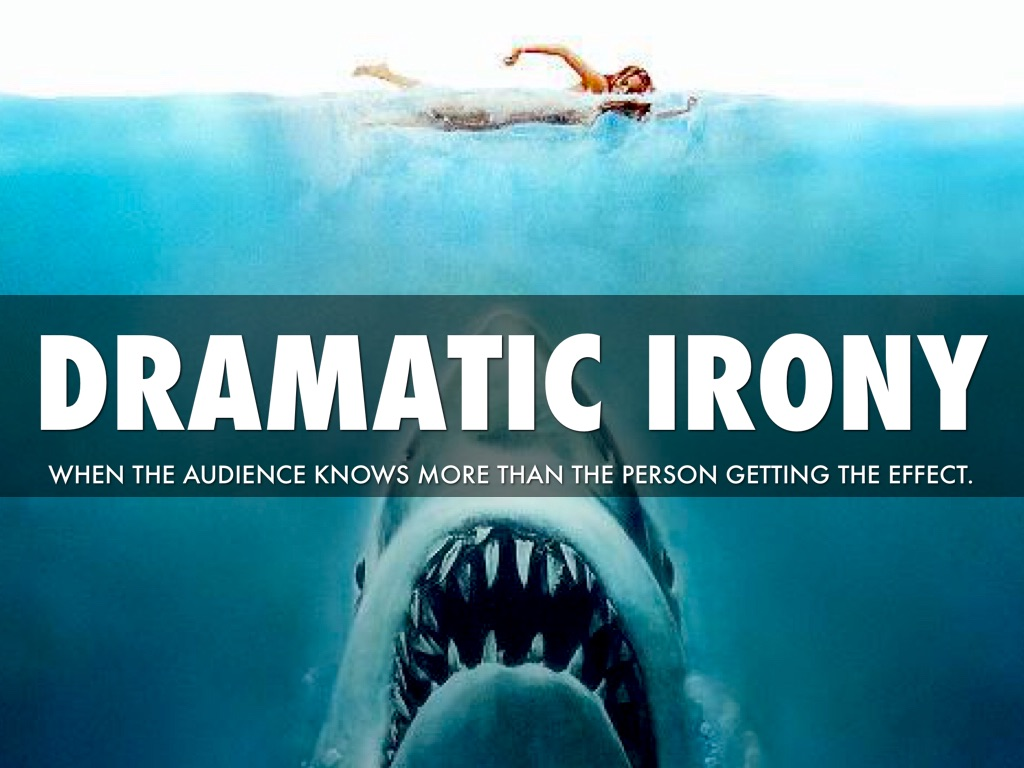 dramatic irony 4 essay Dramatic irony, expressions to complementary attitudes understood by the audience but not the characters essays dramatic irony in the odyssey.