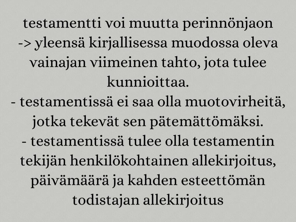 Pätemätön Testamentti