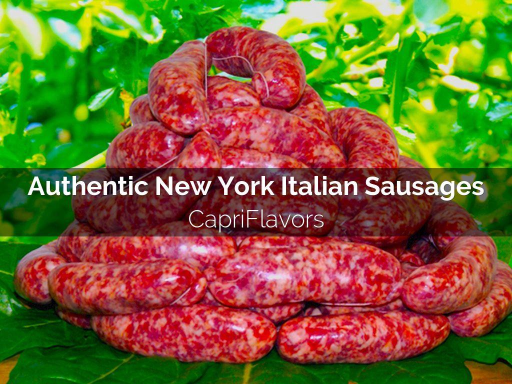 New York Italian Sausages