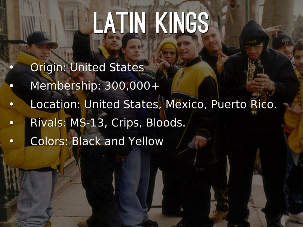 Gangs to use immigration raids to hide behind - Substance News |Latin Kings And Bloods