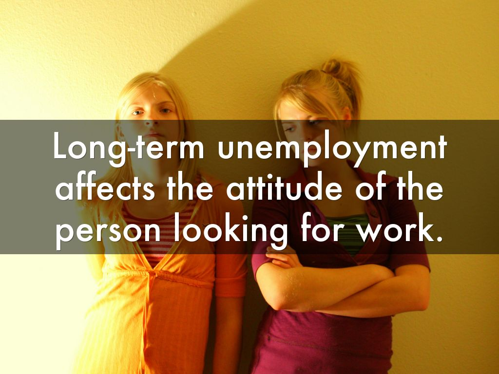 the long-term effects of unemployment on a person essay
