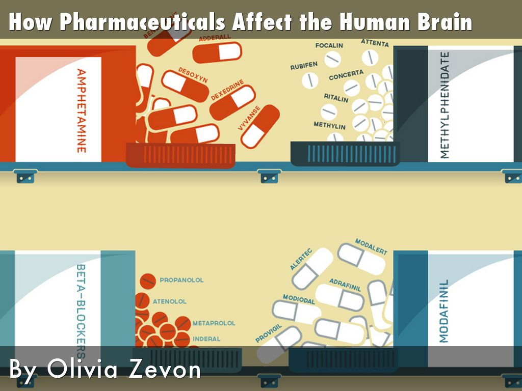 How Pharmaceuticals Affect the Human Brain by Olivia