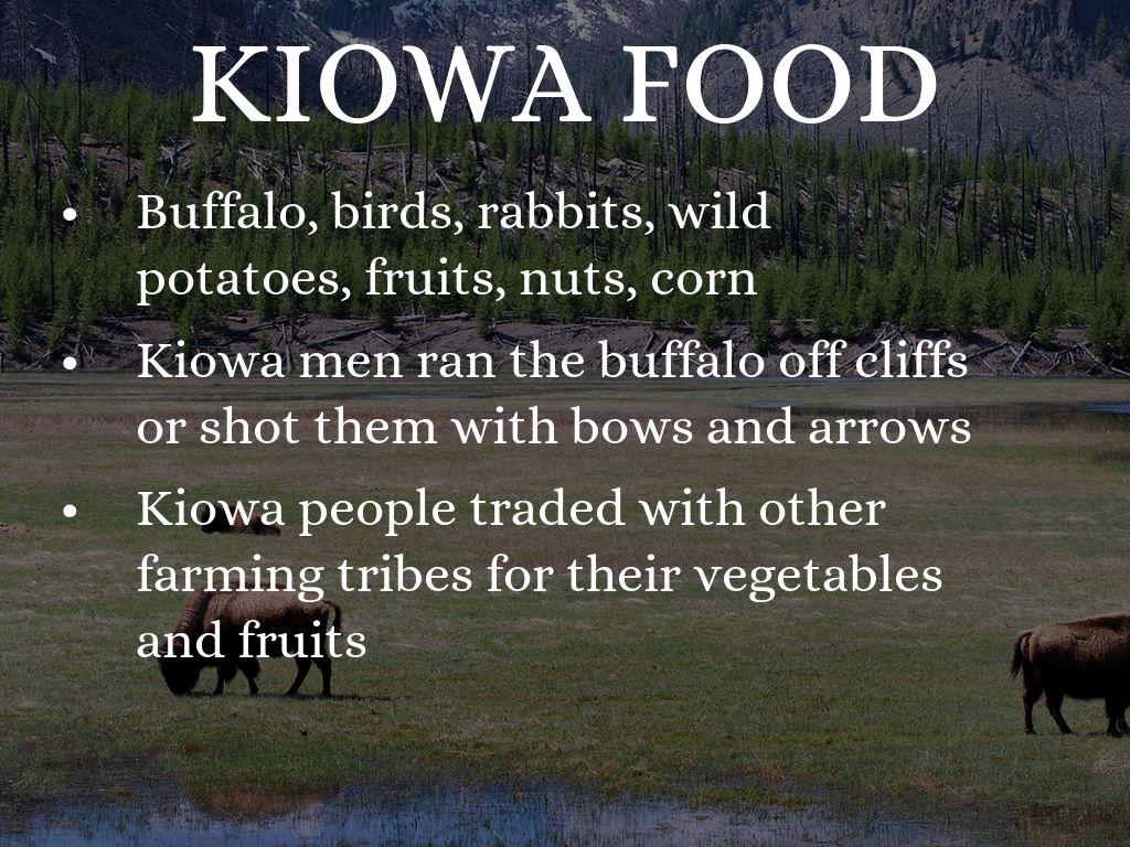 Kiowa Indians by Coaxums Kiowa Food