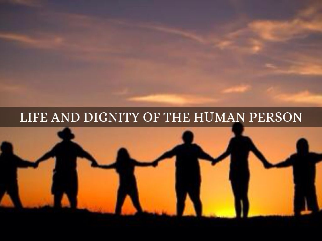 the dignity of a human person