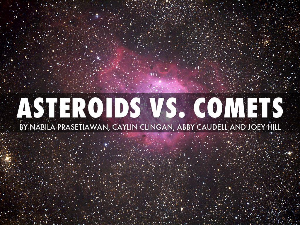 asteroid vs comet - photo #11
