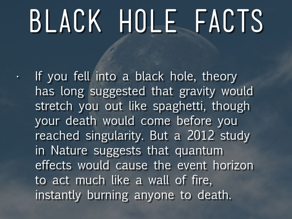 black holes fun facts - photo #23