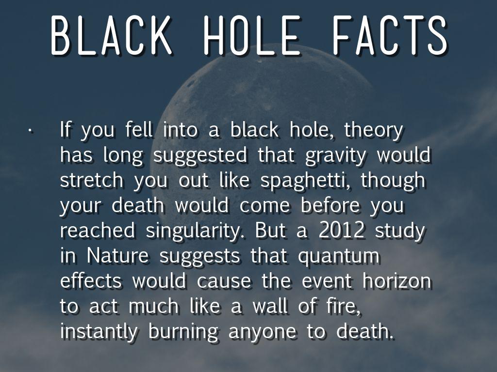 black holes fun facts - photo #23
