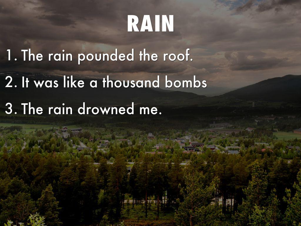 haiku poems about rain - photo #36