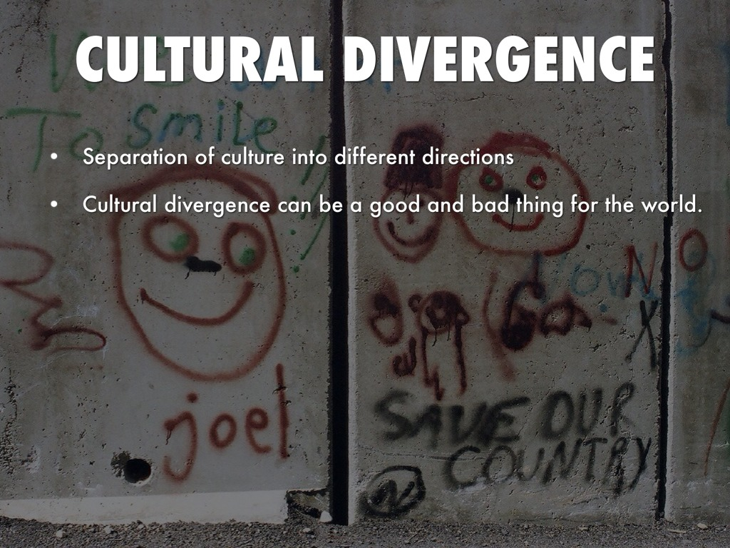cultural convergence good or bad