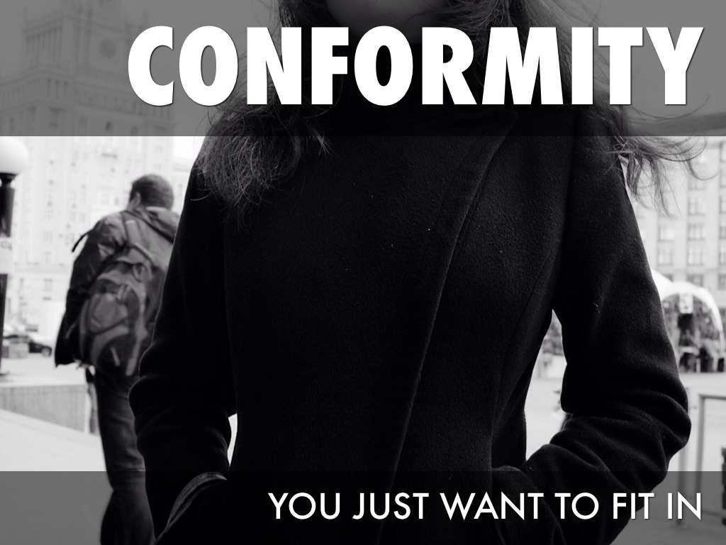 conformity vs individuality by jonathon whalen  2