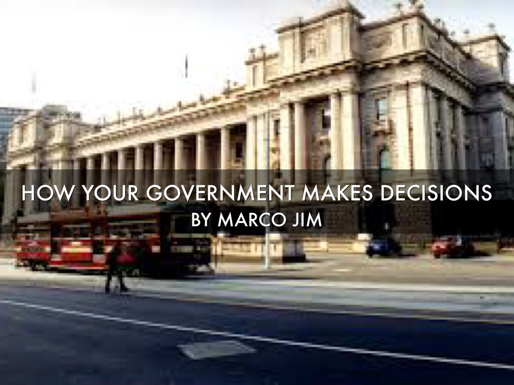 government decisions made