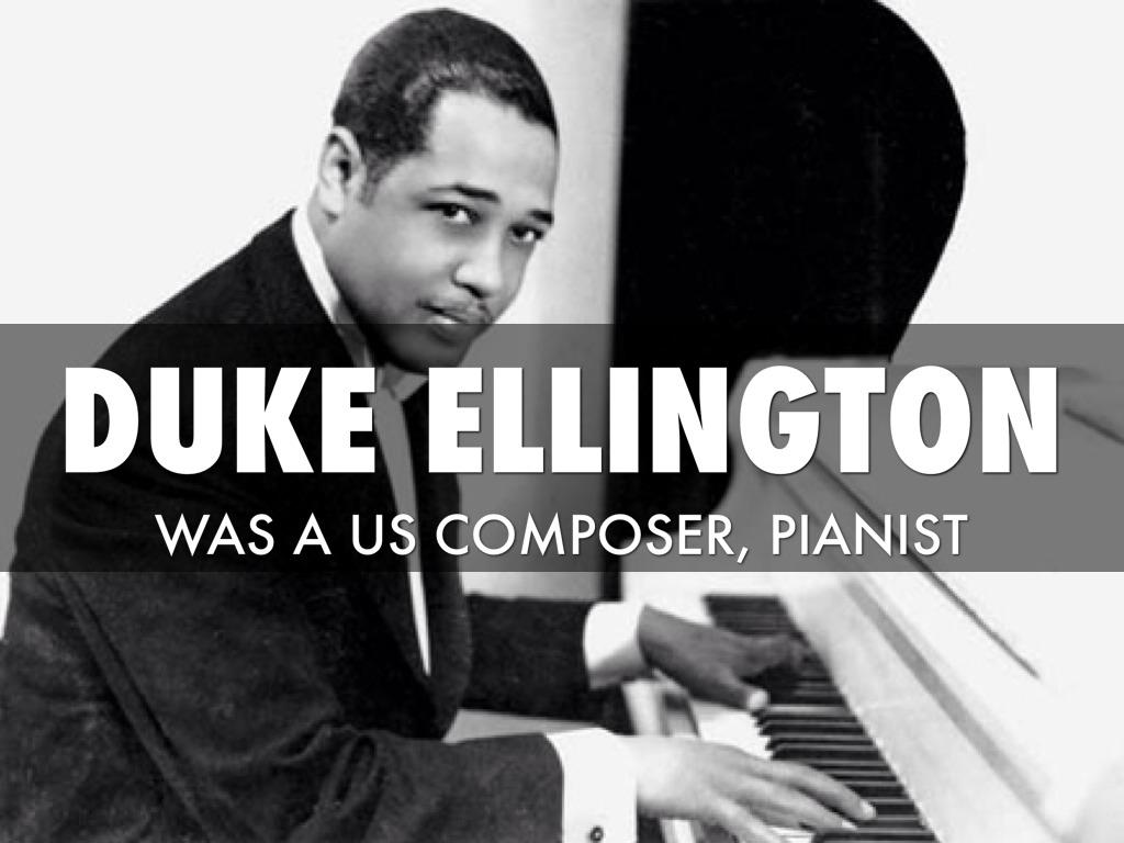 Duke Ellington Playing Piano Images