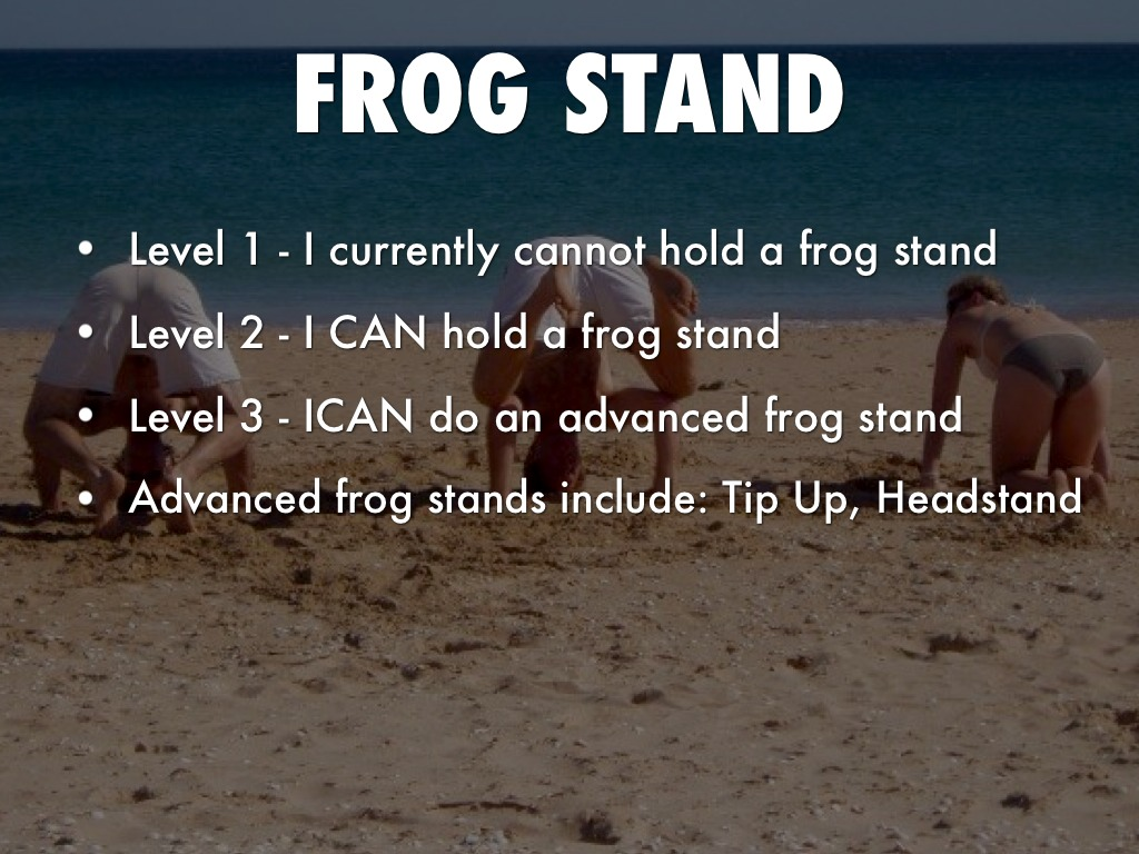 Advanced Frog Stand gymnastics scalesmrgym