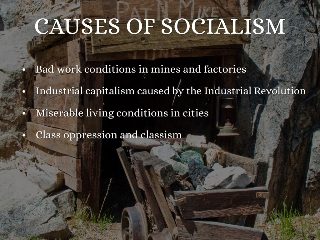 the industrial revolution capitalism and socialism The industrial revolution & the rise of capitalism - chapter summary get ready to learn about the industrial revolution and the rise of capitalism.