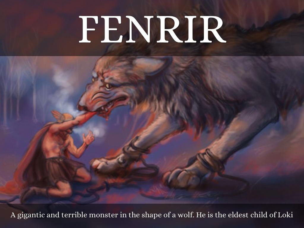 fenrir norse mythology wwwpixsharkcom images