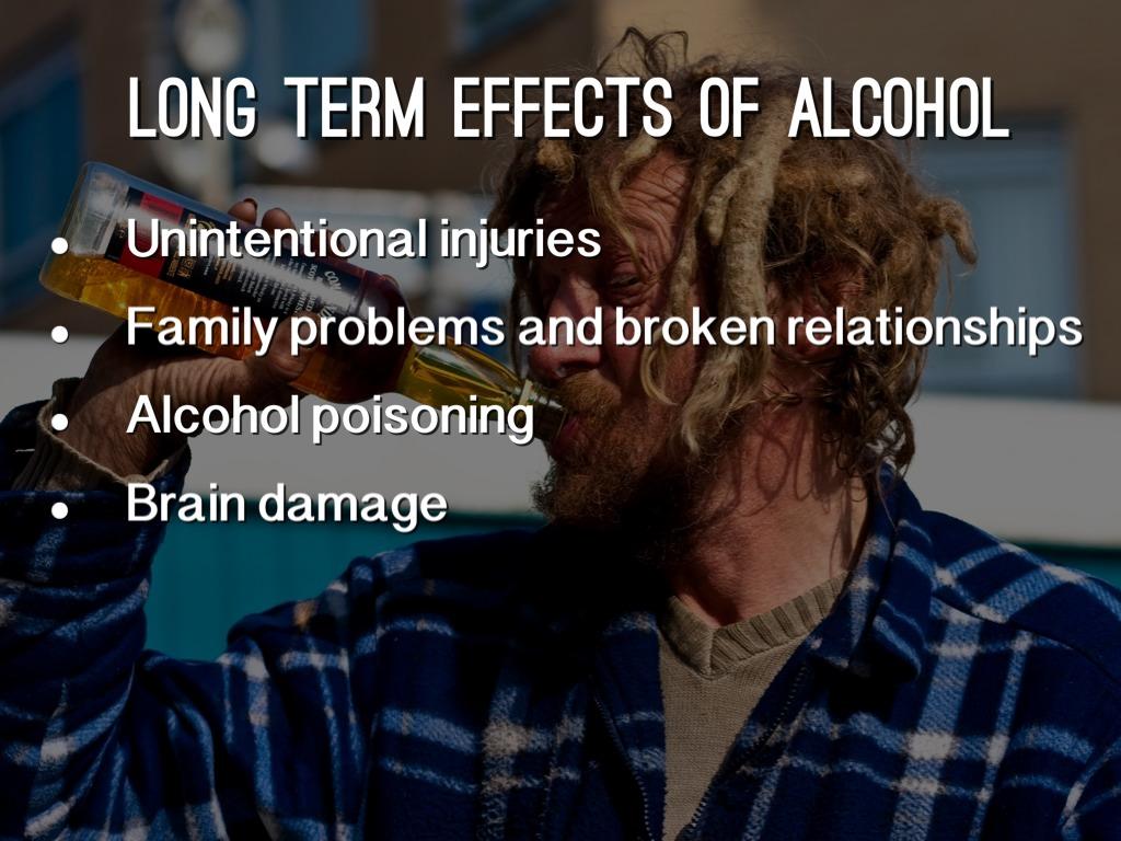long term effects of alchool