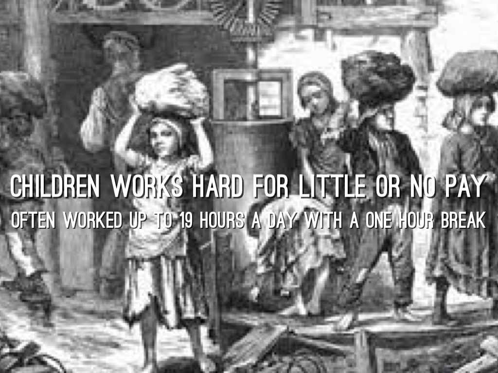 essays on child labor during the industrial revolution