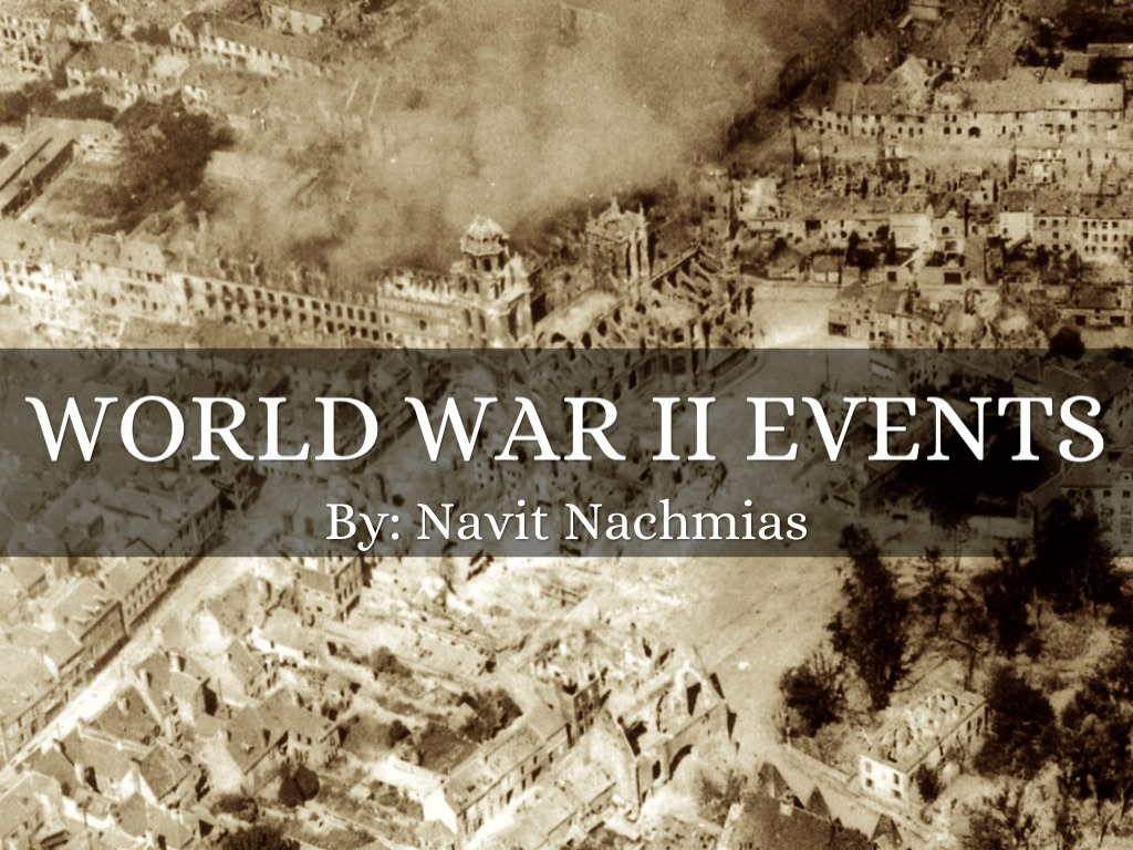2 events in post world war From the invasion of poland to the dropping of the atom bombs on hiroshima and nagasaki - here's a guide to the main events of world war two rationing starts in the uk german 'blitzkrieg .