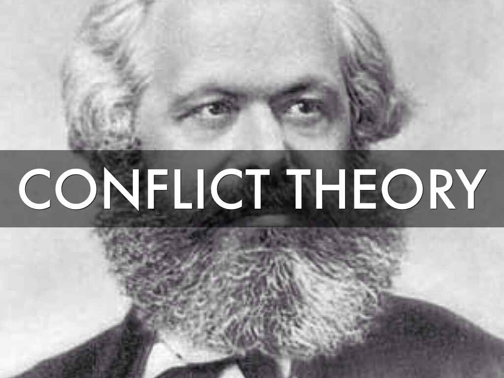 conflict theory karl marx and the This lesson looks at the division that karl marx saw in societies throughout history his theory of class struggle between those who control.