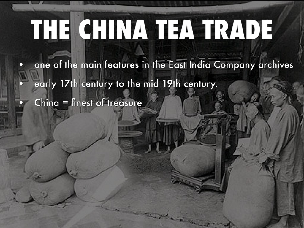 china trade from early 17th century to mid 19th century essay The early and mid-19th century also witnessed the beginning of the colonization of australia and new zealand it was also very difficult to break into the highly.