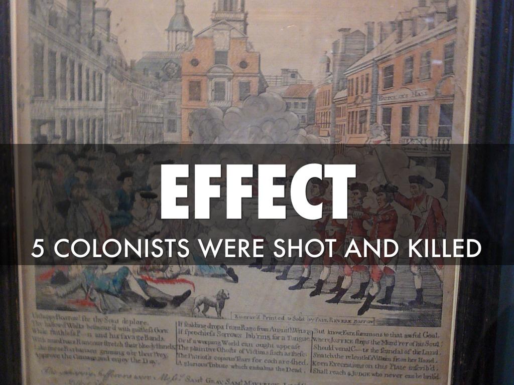 Boston Massacre By Ms De Marco