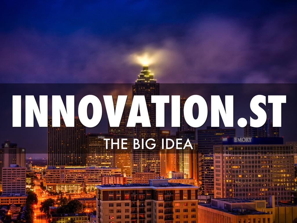 Innovation st by ben love for Innovation consulting atlanta