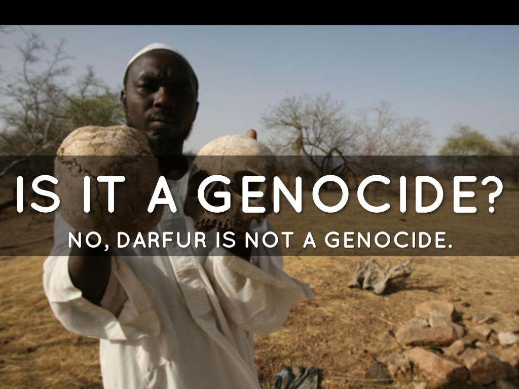 the genocide in darfur