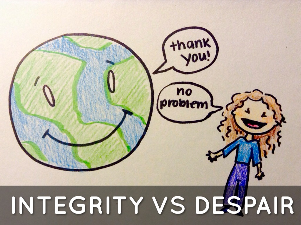 ego integrity versus despair Can you help with the erikson stage- ego vs so a 69 year old cannot return to the trust vs mistrust stage ego integrity vs despair refers to how the person.