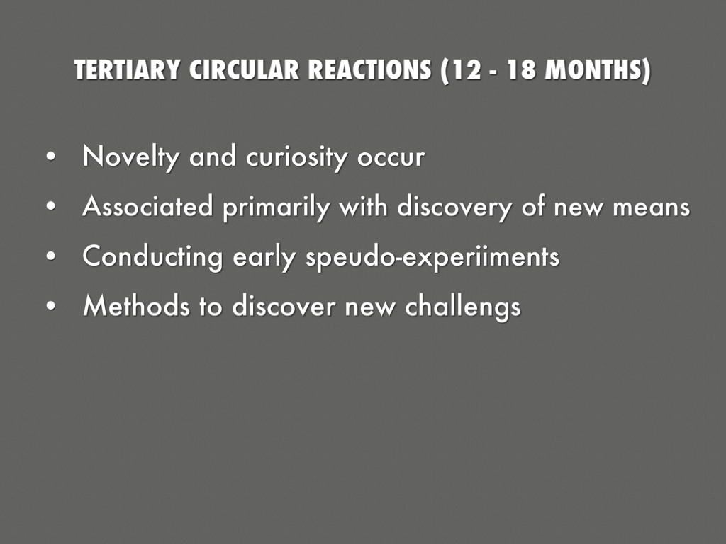 piaget tertiary circular reactions