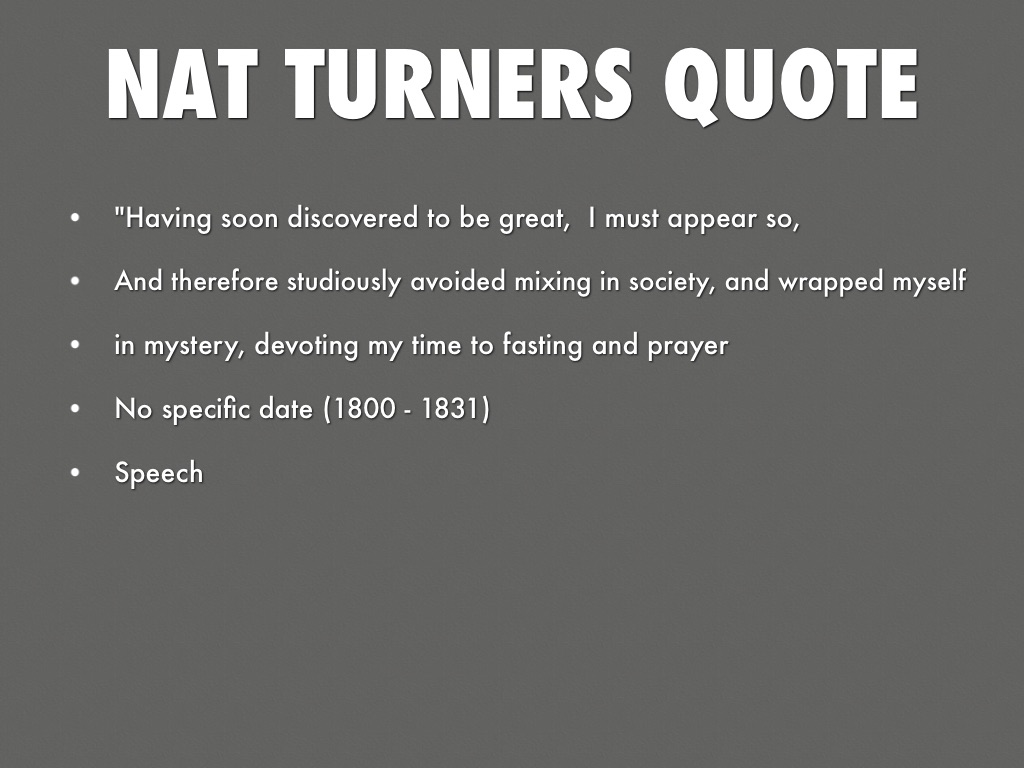 Nat Turner by ryan.harris