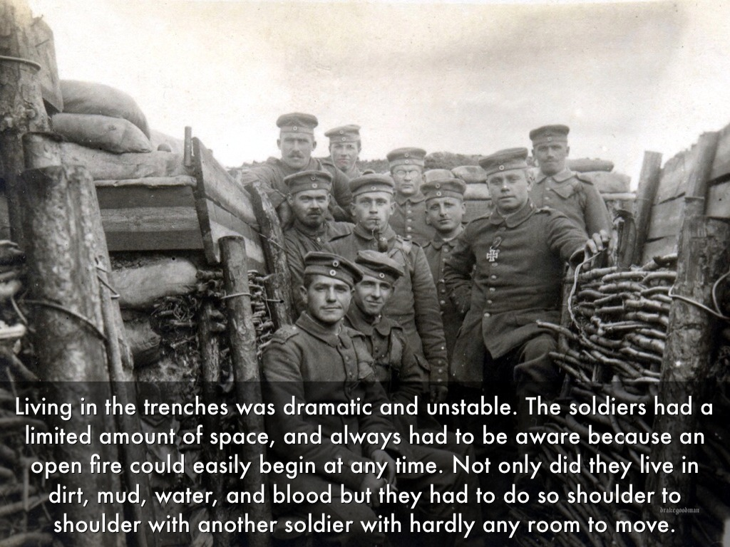 World War I Trenches by McKaia Ryberg