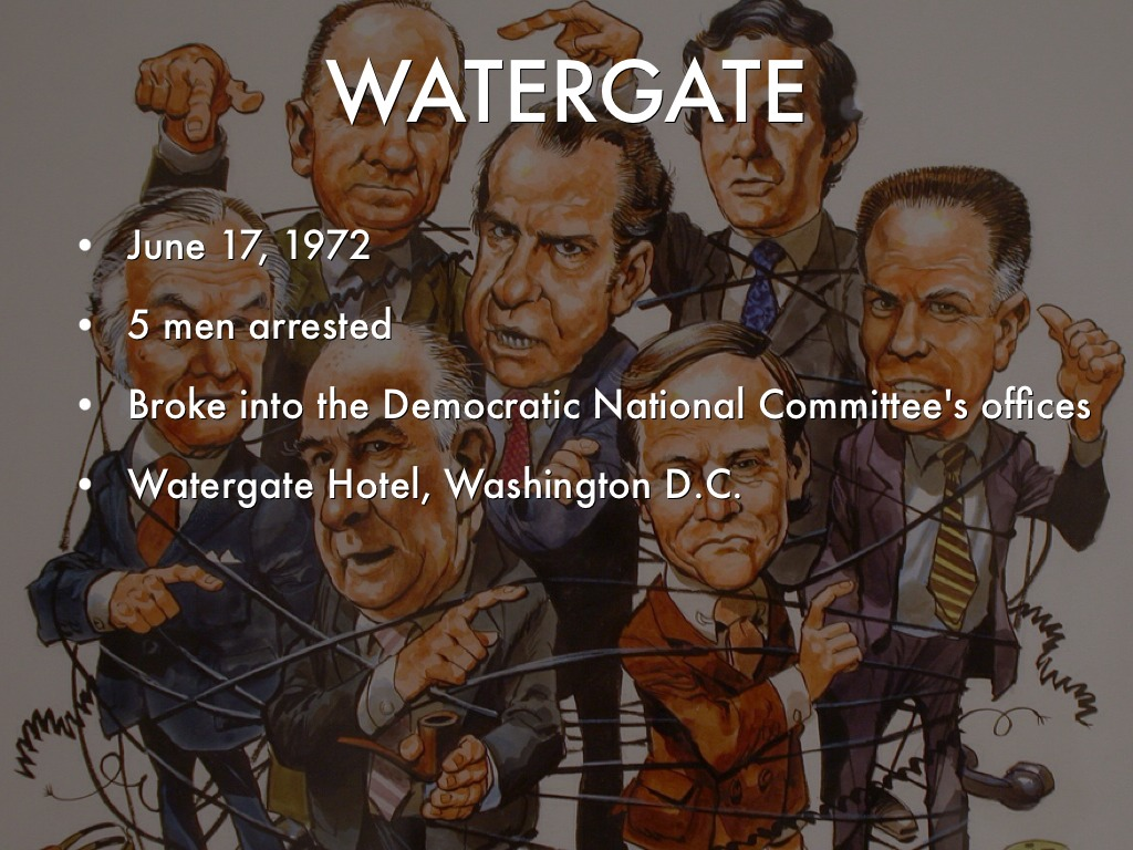 opec and post watergate Watergate refers to the  it so happened that a reporter from the washington post newspaper, irate at not getting a better story, was also sitting in the court .
