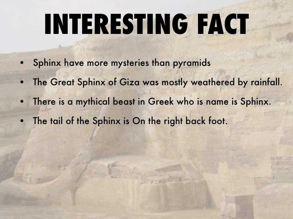 facts about sphinx in greek mythology