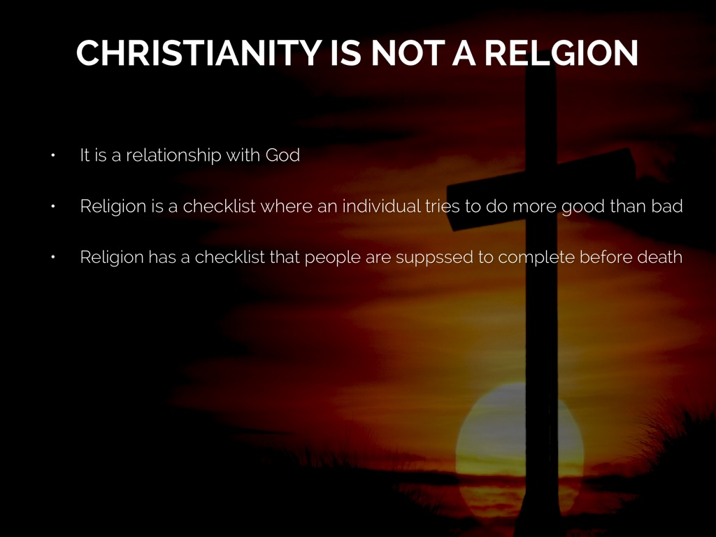 christianity as a religion and a way of living Christianity is a religion founded on a message of good news rooted in the significance of the life of jesus christ in scripture, then, doctrine refers to the entire body of essential theological truths that define and describe that message.