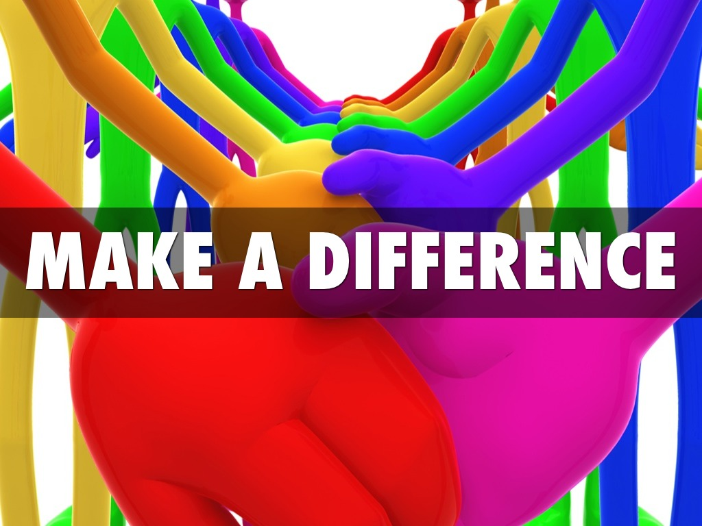 Make A Difference By Muffy Paquette